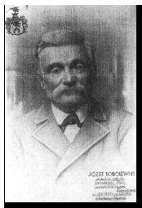 Józef Sobolewski z Radunina - uczestnik Powstania Styczniowego 1863 roku.