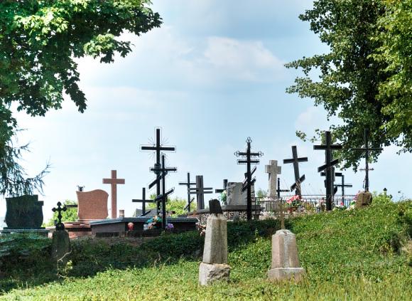9a. Cmentarz prawosławny w Krynkach.