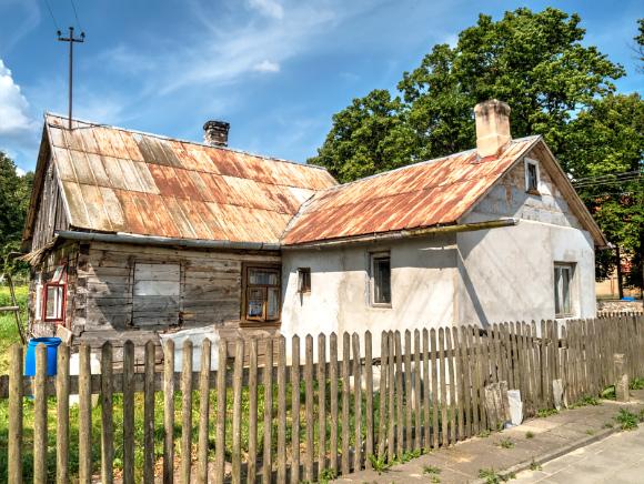 4. Stare domy przy ul. Nowej.