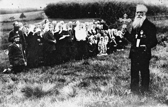 Prorok Eliasz Klimowicz i jego wyznawcy.