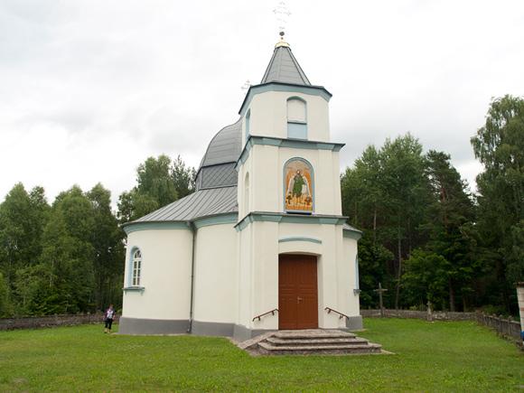 Cerkiew w Grzybowszczyźnie Starej.